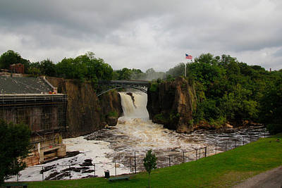 Paterson Great Falls Art Print