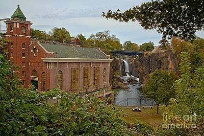 Photograph - Paterson Great Falls Hydro by Adam Jewell