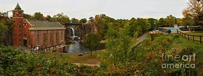 Photograph - Paterson Great Falls National Historic Site Panorama by Adam Jewell