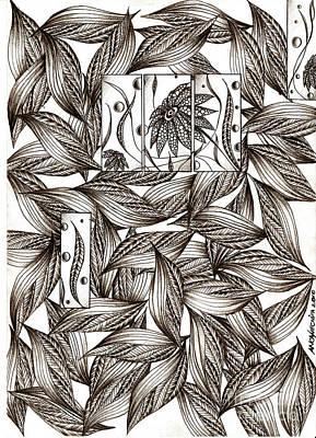 Path Art Print by Anca S