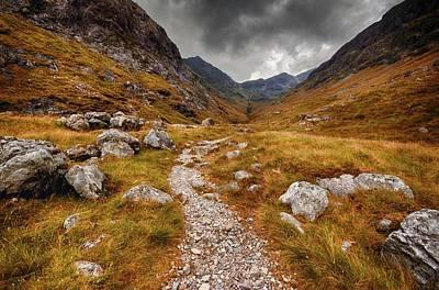 Path In Mountains Art Print by Garry Solomon / Eyeem