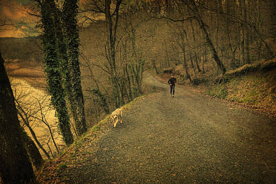 Old Village Photograph - Path Iv by Taylan Apukovska