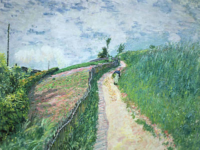 Path Leading To Ville D'avray Art Print by Alfred Sisley