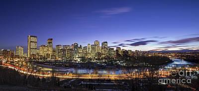 Calgary Photograph - Path Of Glory by Evelina Kremsdorf
