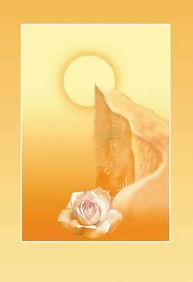 Painting - Path Of Integral Yoga  by Shiva Vangara