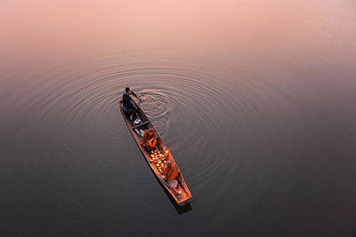 Buddhist Photograph - Path Of Light by Nun Rungrojanarak