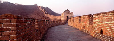 Ancient Civilization Photograph - Path On A Fortified Wall, Great Wall Of by Panoramic Images