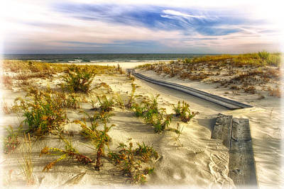Photograph - Path Over The Dunes by Carolyn Derstine