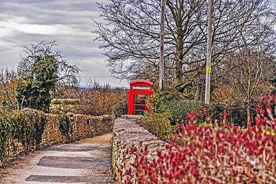 Path Through The Cotswolds Art Print
