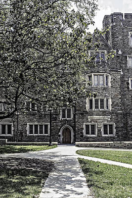 Stone Buildings Photograph - Path To Duke by Madeline Ellis