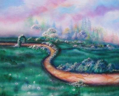 Painting - Path To Glory Panel 2 by Kendra Sorum