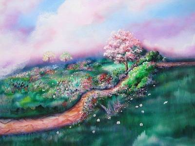 Painting - Path To Glory Panel 3 by Kendra Sorum