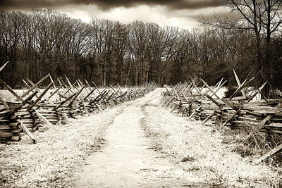Photograph - Path To History by John Rizzuto