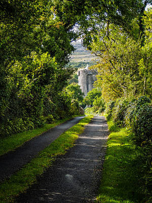 Photograph - Path To Newtown Castle by James Truett