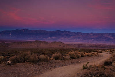 Dirt Roads Photograph - Path To The Mountains by Andrew Soundarajan