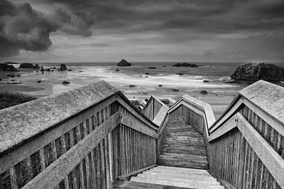 Path To The Beach Art Print