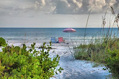 Path To The Beach II Art Print by Steven Ainsworth
