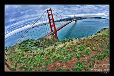 Photograph - Path To The Golden Gate Bridge by Blake Richards