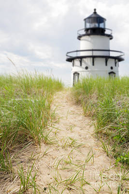Photograph - Path To The Lighthouse by Edward Fielding