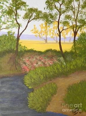 Painting - Path To The Meadow by Tanja Beaver