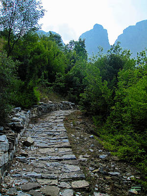 Photograph - Path To The Mountains by Alexandros Daskalakis