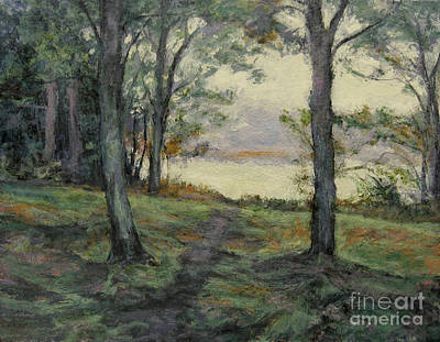 Painting - Path To The Pond / Early Morning by Gregory Arnett