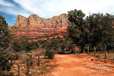 Photograph - Path To The Red Rocks by John Rizzuto