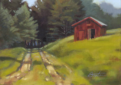 Tin Roof Painting - Path To The River by Todd Baxter
