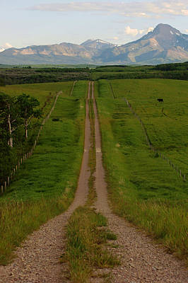 Photograph - Path To The Rockies No.2 by Daniel Woodrum