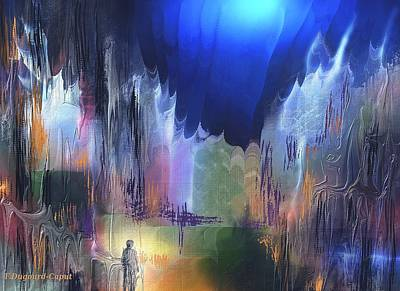 Abstract Digital Painting - Pathfinder by Francoise Dugourd-Caput