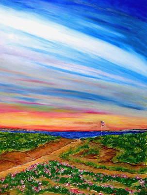 Paths To Independance Art Print by Daniel Dubinsky