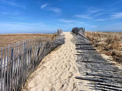 Photograph - Pathway To Beach by Janice Drew