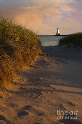 Pathway To Lighthouse Art Print
