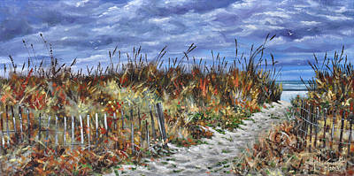 Painting - Pathway To North Myrtle Beach by Craig T Burgwardt