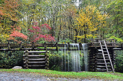 Photograph - Pathway To The Mill by Mary Anne Baker