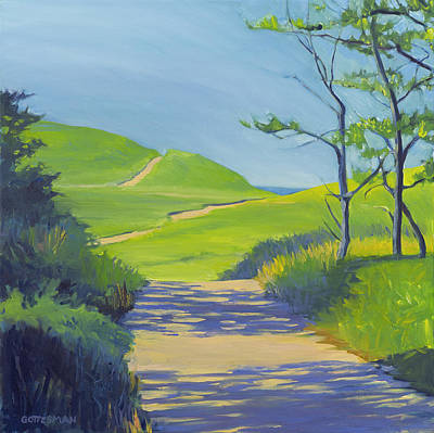 Painting - Pathway To The Ocean by Rebecca Gottesman
