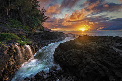 Photograph - Pathway To The Pacific by Hawaii  Fine Art Photography