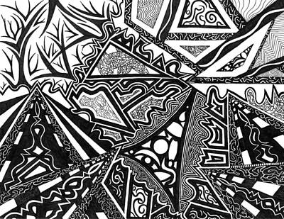 Drawing - Pathways by Kerri White