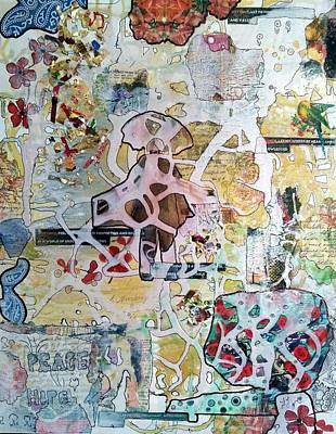 Pathway Digital Art - Pathways To Peace by Jan Steadman-Jackson