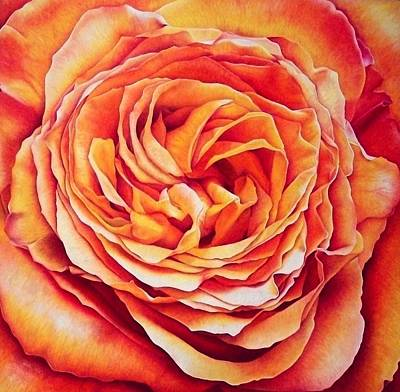 Rose Painting - Patience by Brandon Sharp