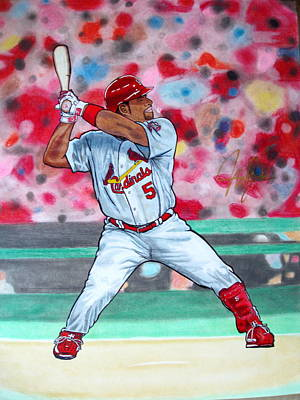 St. Louis Cardinals Drawing - Patience  by Mark John