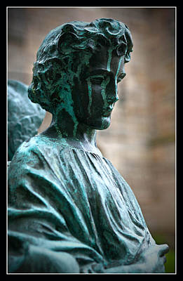 Photograph - Patina Angel by Liz  Alderdice