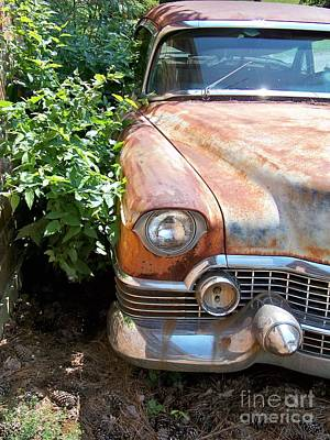 Smooth Ride Photograph - Patina Done Well by Chuck  Hicks