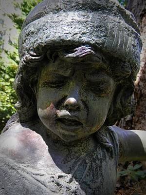 Photograph - Patinated Face by Frank Wilson
