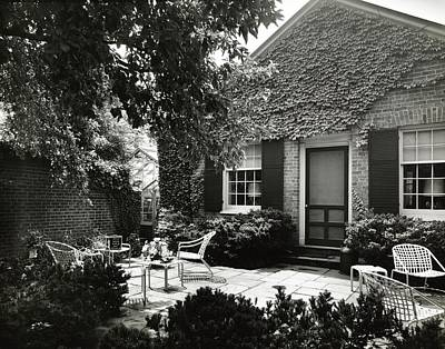 Photograph - Patio And Playhouse by Tom Leonard