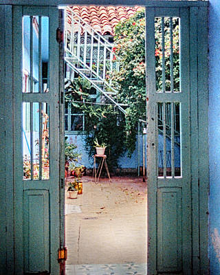 Photograph - Patio by Charles McKelroy