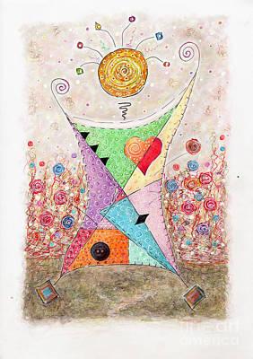 Patonika Art Print by Veronika Pock