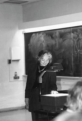University Of Illinois Photograph - Patricia Cladis by Emilio Segre Visual Archives/american Institute Of Physics