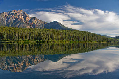 Photograph - Patricia Lake Reflection by Phil Stone