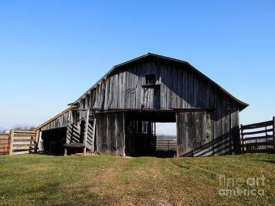 Digital Art - Patrick Co Farm by Angelia Hodges Clay